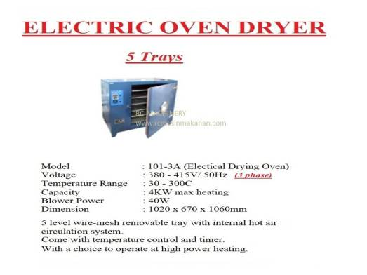 electric oven dryer, dryer, pengering, oven