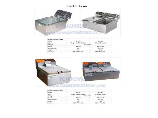 electrik fryer, deep fryer, mesin menggoreng