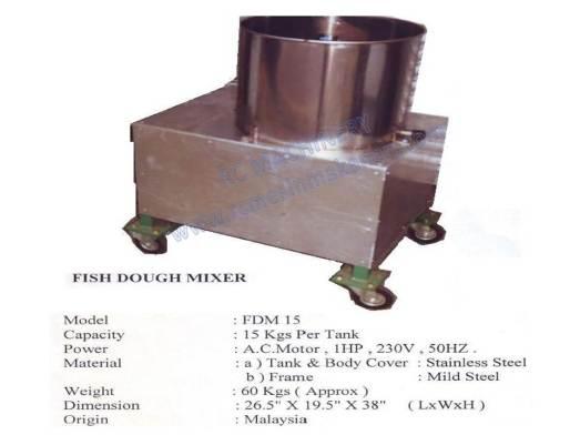 fish dough mixer, meat mixer, mesin pengadun, mixer