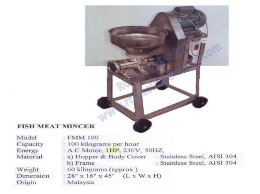 fish meat mincer , mesin pengisar ikan, mesin pengisar, meat mincer