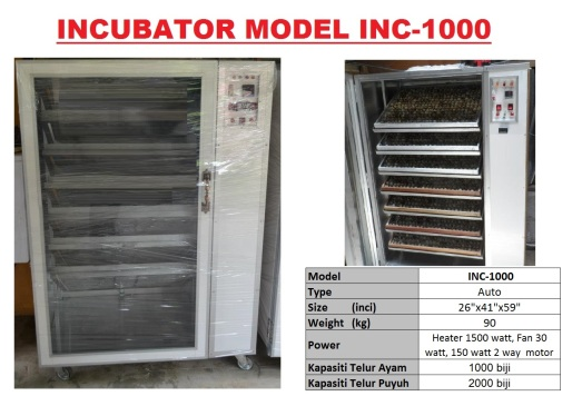 G5 Incubator INC-1000
