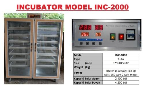 G5 Incubator INC-2000