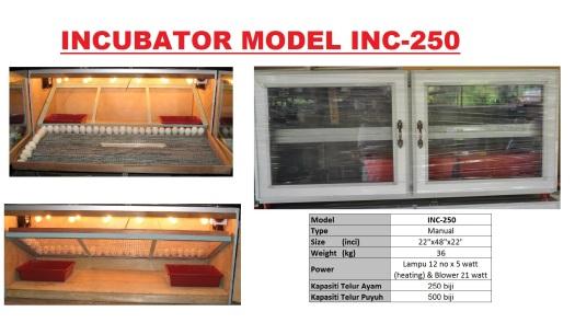 G5 Incubator INC-250