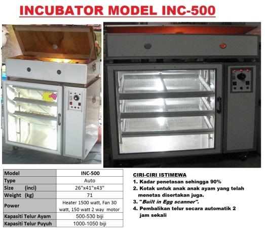 G5 Incubator INC-500
