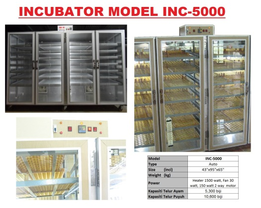 G5 Incubator INC-5000