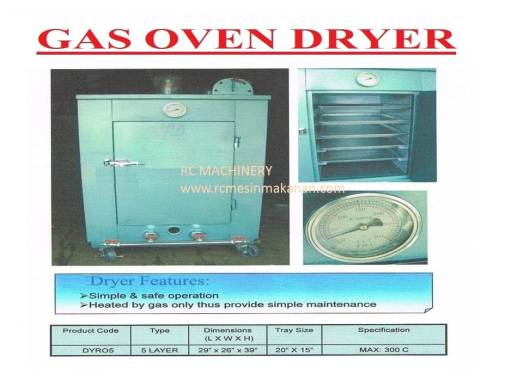 gas oven dryer, dryer, pengering