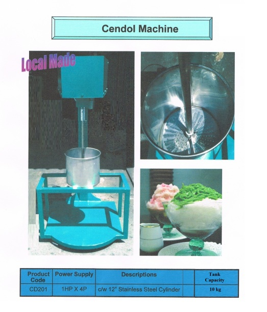 H6 Cendol Machine CD201