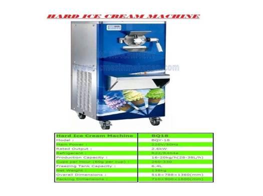 hard ice cream machine, mesin membuat ais krim, ais krim, ice cream