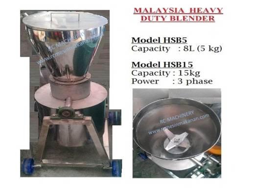 heavy duty blender, blender, pengisar, malaysia
