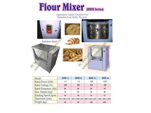 horizontal mixer, mesin pengadun tepung, mesin membuat kuih dan roti, mesin kacau tepung