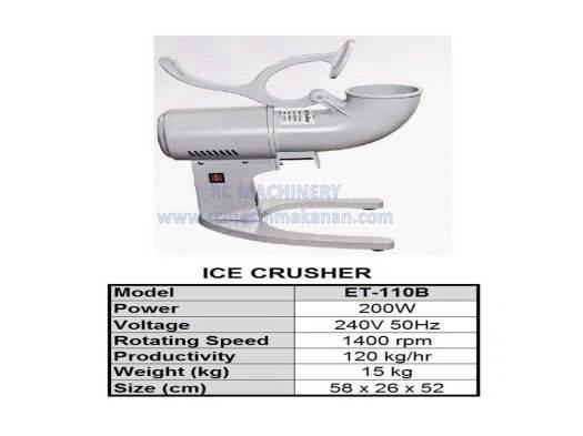 ice crusher, ABC machine, mesin ABC