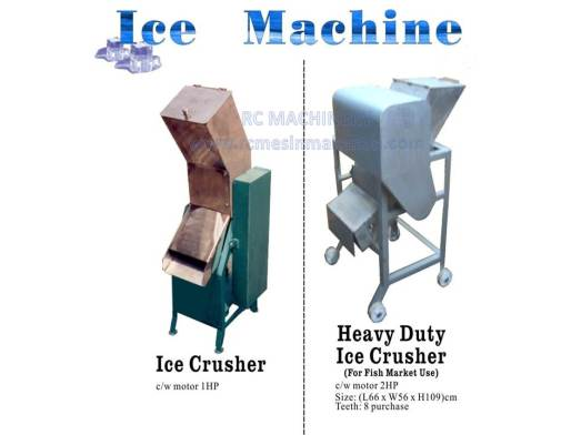 ice machine, ice crusher, heavy duty ice crusher