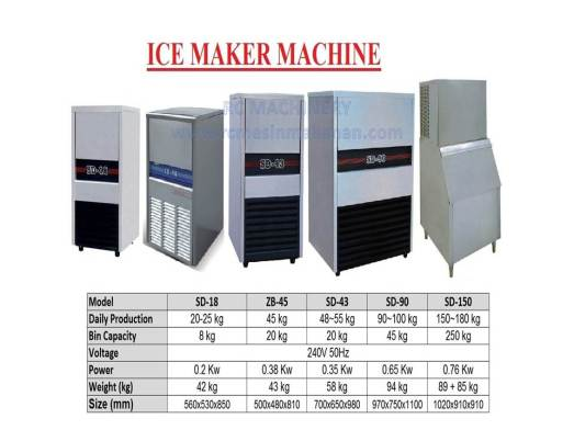 ice maker machine, mesin membuat ais, ice maker, ais