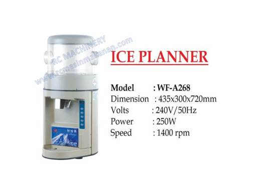 ice planner, ice shaving, ABC machine, mesin ABC