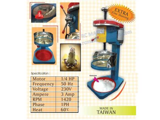 ice shaving machine, ABC machine, mesin ABC, taiwan machine
