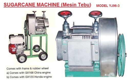 J6 sugar cane machine YJ96-3