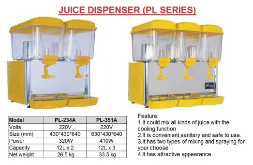 J7 Drink Dispenser  LP Series