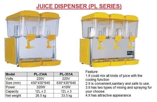 J7 Drink Dispenser  LP Series