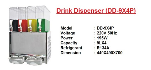 J8 Drink Dispenser DD-9X4P