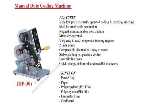 manual date coding machine, manual date, coding machine, mesin expiry date
