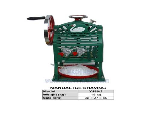 manual ice shaving, ABC machine, masin ABC