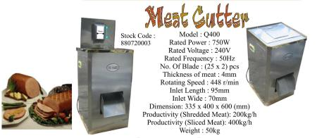 Meat Cutter (pemotong daging)