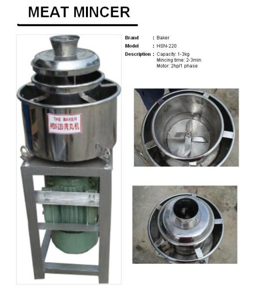 Meat Mincer HSN-220