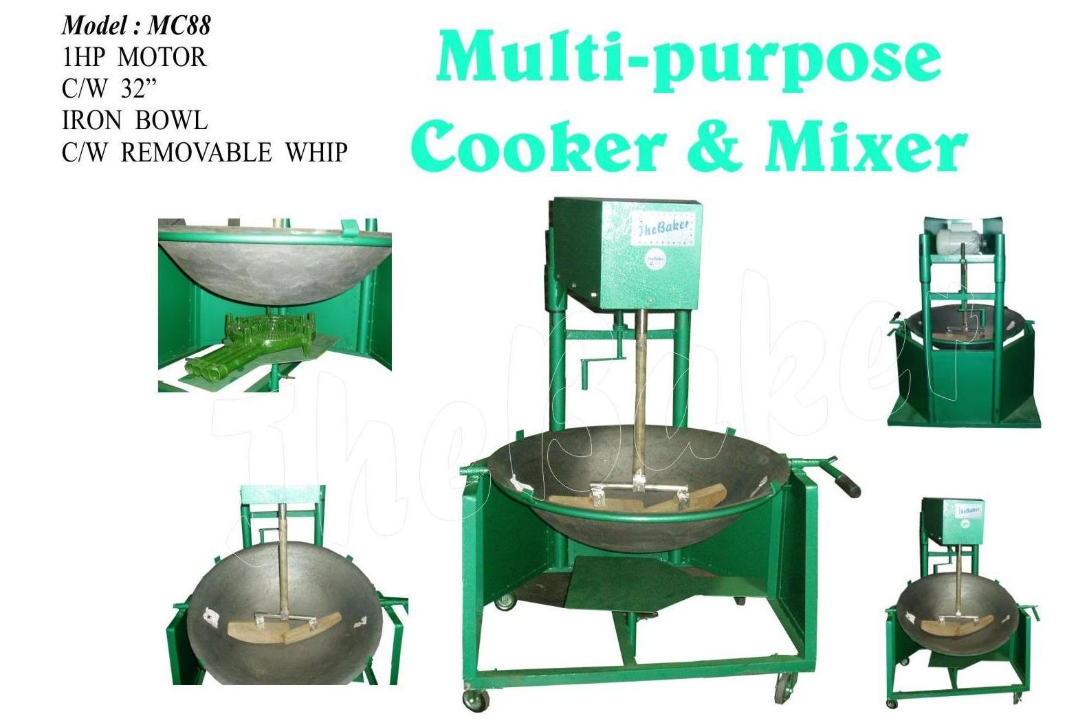 Multi Purpose Mixer ~ Multi purpose cooker mixer kedai mesin makanan