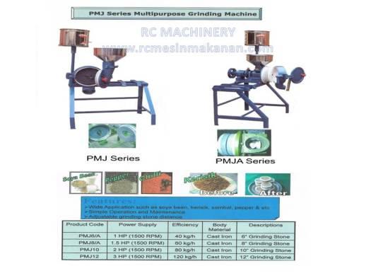 multipurpose grinding machine, grinder machine, mesin pengisar