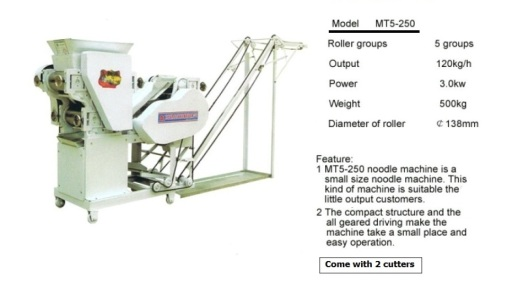 mesin mee, noodle machine