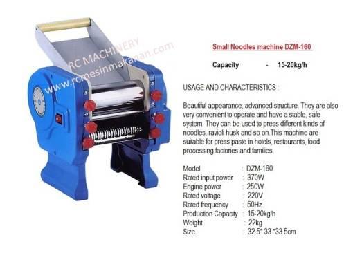 noodles machine, mesin mee, mesin membuat mee, mesin membuat pasta