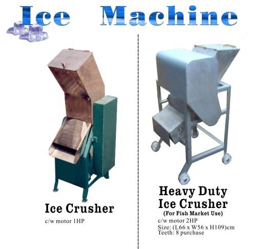 O6 Ice Crusher Mesin penghancur ais