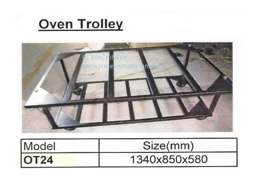 oven trolley, troli oven, electric oven,  oven elektrik, mesin membuat kuih dan kek,troli untuk oven