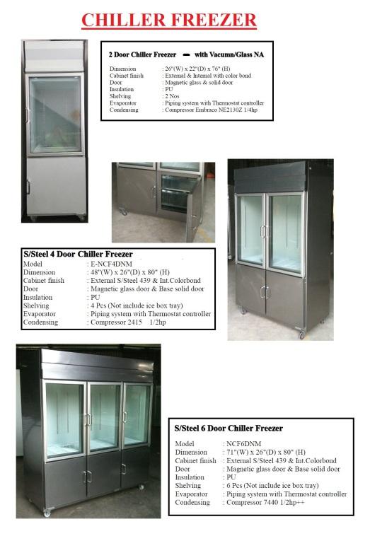 P4 - Chiller Freezer