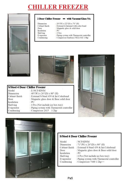 Pa5 - Chiller Freezer