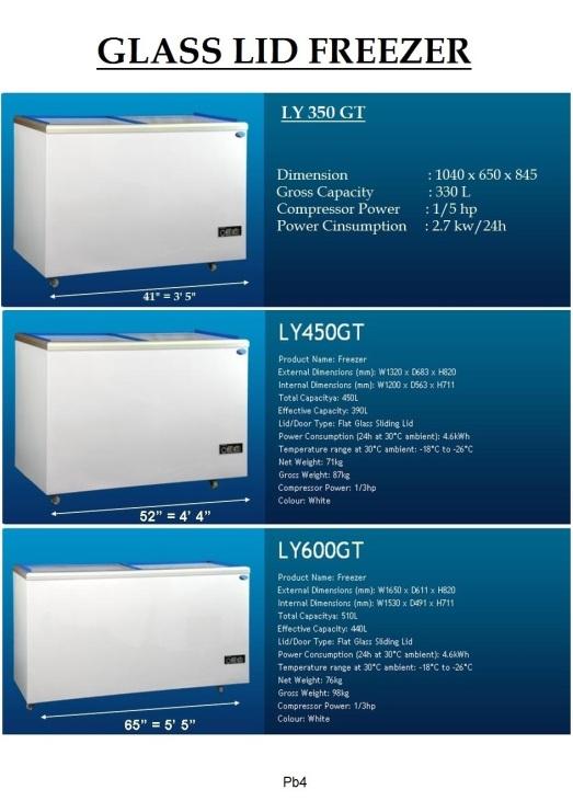 Pb4 Freezer GT