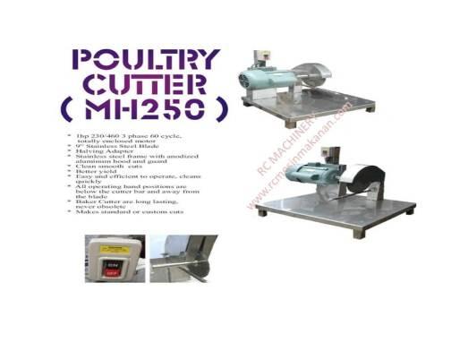 poultry cutter, mesin memotong ayam, mesin ayam
