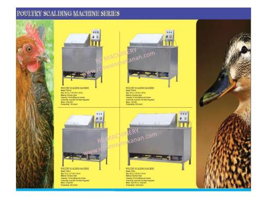 poultry scalding machine, mesin ayam, mesin mencabut bulu ayam