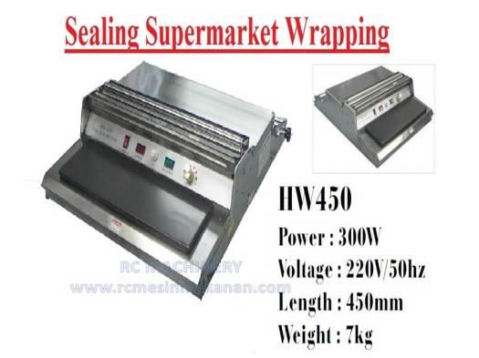 sealing supermarket wrapping, wrapping, sealing, sealer