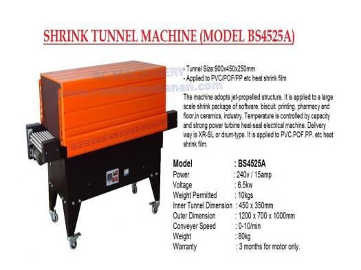 shrink tunnel machine, BS4525A