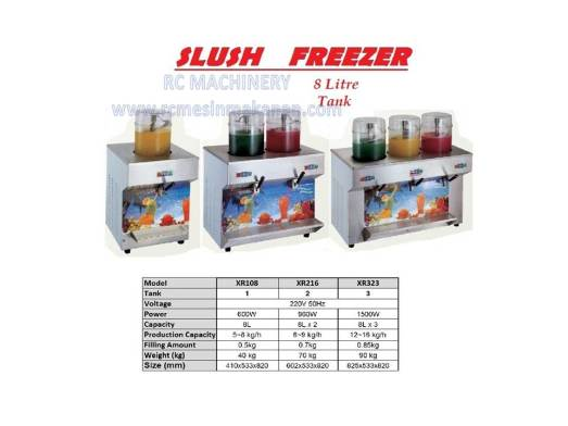 slush freezer, slush machine