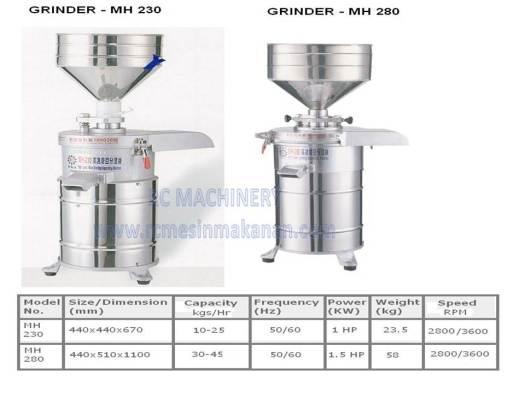 soya bean machine, mesin soya, soya bean grinder, taiwan model