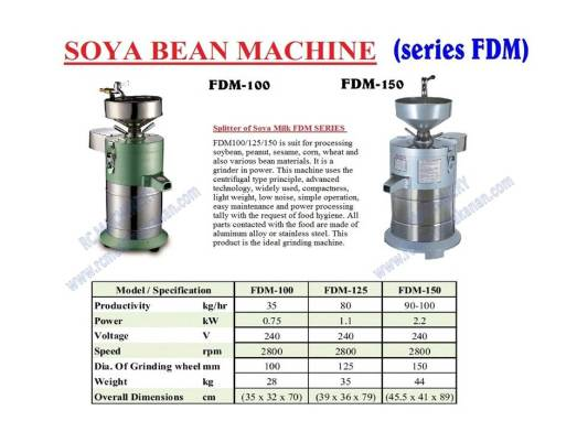 soya bean machine, mesin soya, soya bean grinder