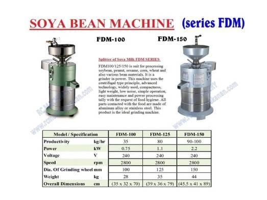 soya bean machine, mesin soya, soya bean grinder