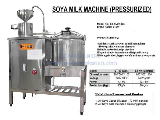 soya milk machine, soya maker, mesin membuat soya