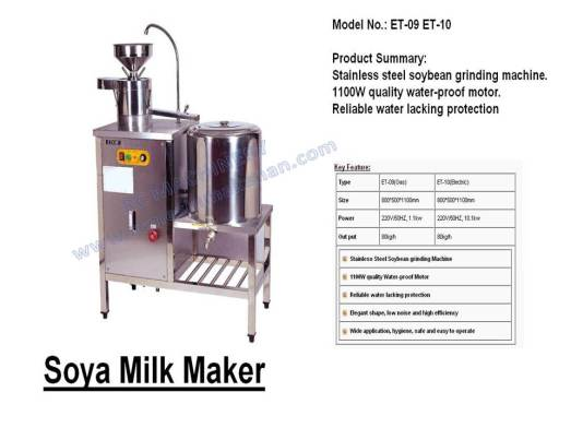 soya milk maker, mesin membuat soya, soya maker