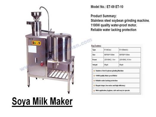 soya milk maker, mesin membuat soya, soya maker