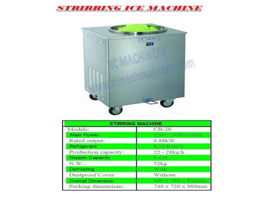 strring ice cream, meisn membuat ais krim, ice cream maker, ice cream