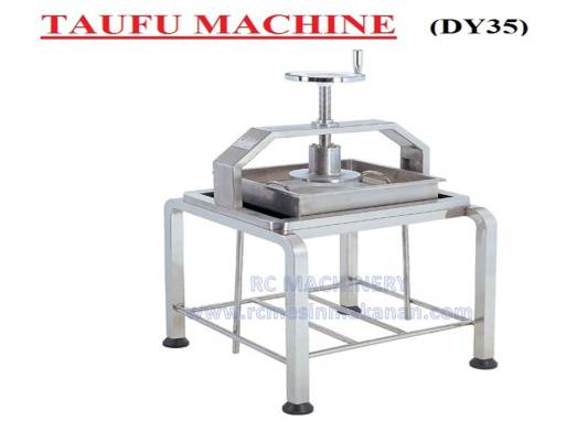 taufu machine, mesin taufu, press machine