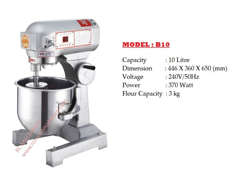 A) Mesin Pengadun (Mixer) – Kedai mesin Makanan